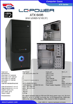 Datasheet ATX case 649B with PSU LC420-12
