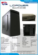 Datasheet Micro-ATX case 2013MB