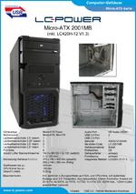 Datenblatt Gehäuse 2001MB mit Netzteil LC420H-12