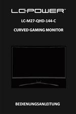 User manual monitor LC-M27-QHD-144-C
