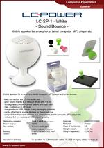 Datasheet speaker LC-SP-1