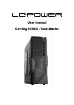 Manual case - Gaming 978BG
