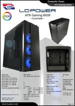 Datasheet ATX case Gaming 993B Covertaker