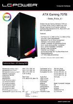 Datenblatt ATX-Gehäuse Gaming 707B Strike_Force_X