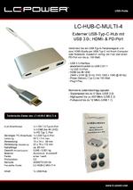Datenblatt USB-Hub LC-HUB-C-MULTI-4