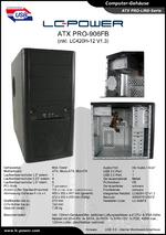 Datenblatt ATX-Gehäuse PRO-906FB