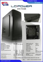 Datasheet ATX case 7034B