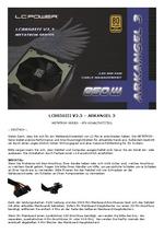 Manual PSU LC8850III V2.3 Arkangel 3
