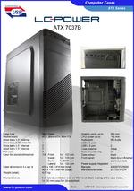 Datasheet ATX case 7037B