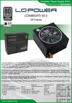 Datasheet ATX power supply unit LC6450GP3 V2.3