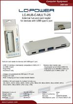 Datasheet USB hub LC-HUB-C-MULTI-2S