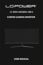 Manual monitor LC-M34-UWQHD-100-C