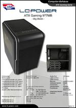 Datenblatt Micro-ATX-Gehäuse Gaming 977MB Big Block