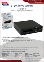 Datasheet card reader LC-CR-2