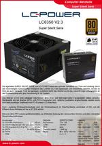 Datenblatt ATX-Netzteil LC6350 V2.3