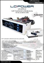 Datenblatt Lüftersteuerung LC-CFC-3