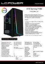 Datenblatt ATX-Gehäuse Gaming 710B Gold_Miner_X