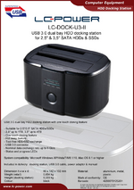Datasheet docking station LC-DOCK-U3-II