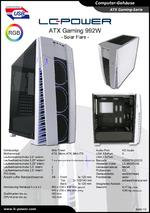 Datenblatt ATX-Gehäuse Gaming 992W Solar Flare