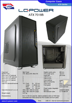 Datasheet ATX case 7018B