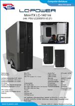 Datenblatt Mini-ITX-Gehäuse LC-1401mi