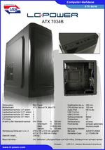 Datenblatt ATX-Gehäuse 7034B
