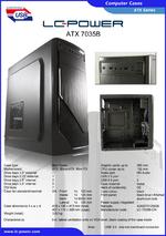 Datasheet ATX case 7035B