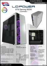 Datenblatt ATX-Gehäuse Gaming 993W Covertaker
