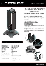 Datasheet USB hub LC-HUB-HEAD-BUNGEE