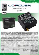 Datenblatt ATX-Netzteil LC6560GP3 V2.3