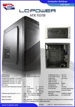 Datenblatt ATX-Gehäuse 7037B