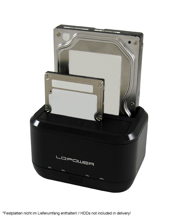 Docking Station LC-DOCK-U3-III Anwendungsfoto