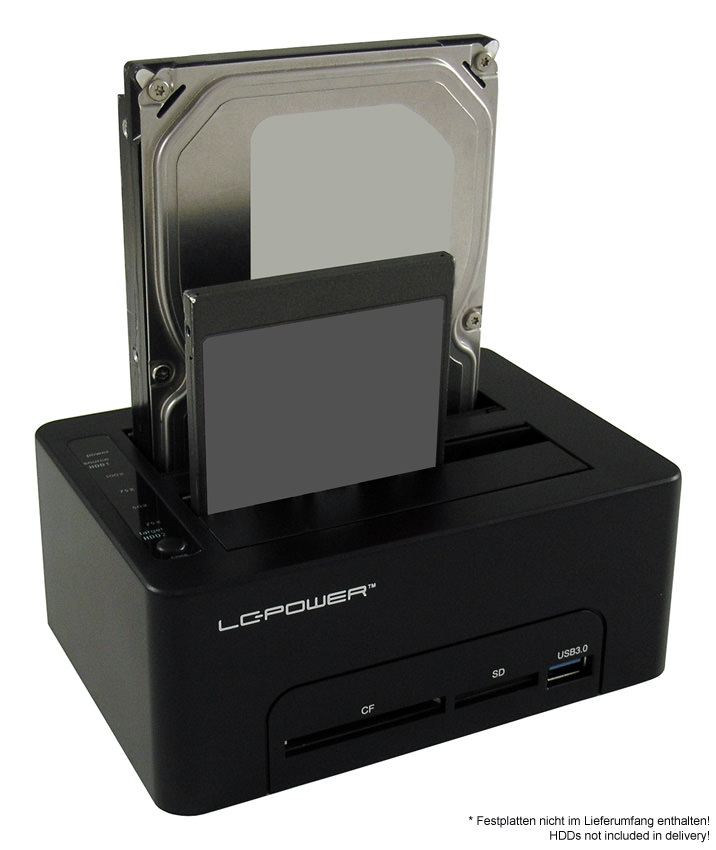 Docking Station LC-DOCK-U3-CR Anwendungsfoto