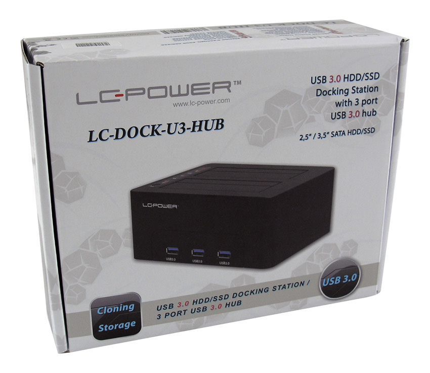 Docking station LC-DOCK-U3-HUB retail