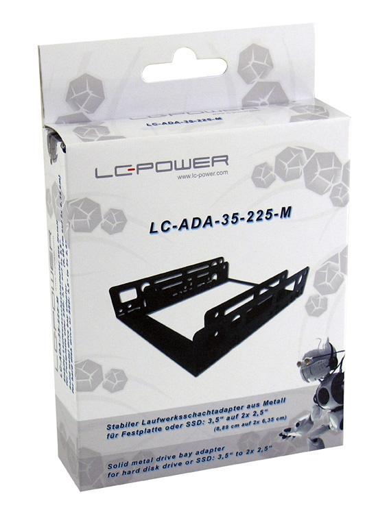 Festplattenadapter LC-ADA-35-225-M Verkaufsverpackung