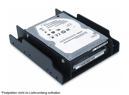 Festplattenadapter LC-ADA-35-225 Anwendungsfoto