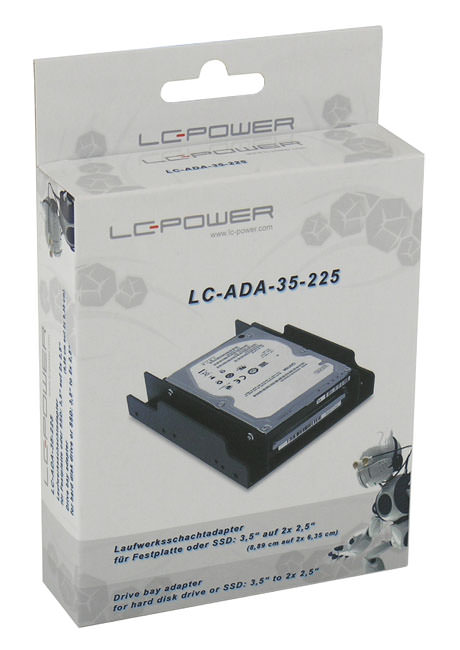 HDD adapter LC-ADA-35-225 retail