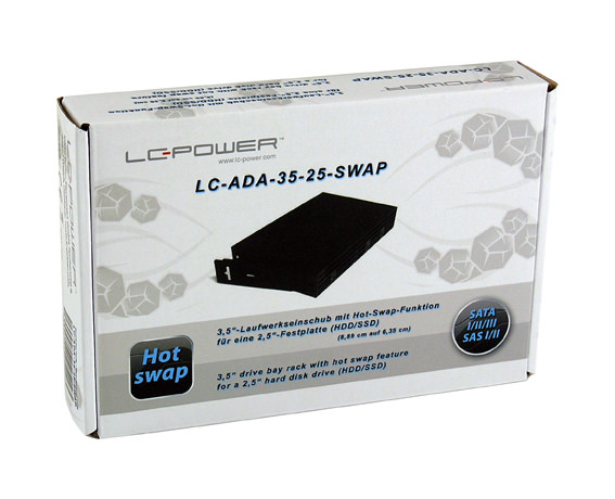 Drive bay rack LC-ADA-35-25-SWAP retail