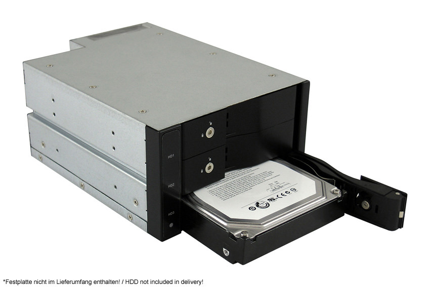 Laufwerkseinschub LC-ADA-525-3x35-SWAP Anwendungsfoto