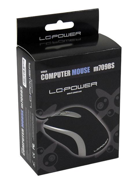 Optische USB-Maus m709BS Verkaufsverpackung