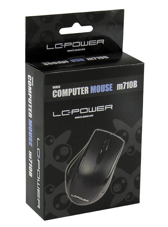 Optische USB-Maus m710B Verkaufsverpackung