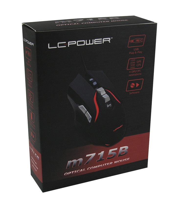 Optical RGB USB mouse m715B retail