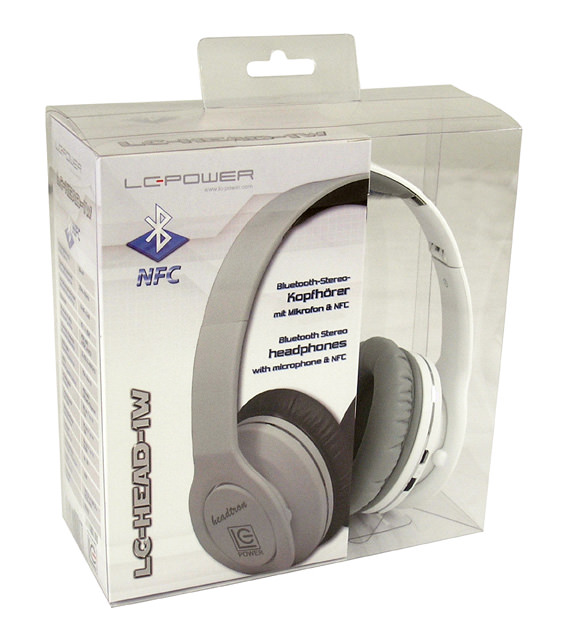 Bluetooth headphones LC-HEAD-1W - Headtron - retail