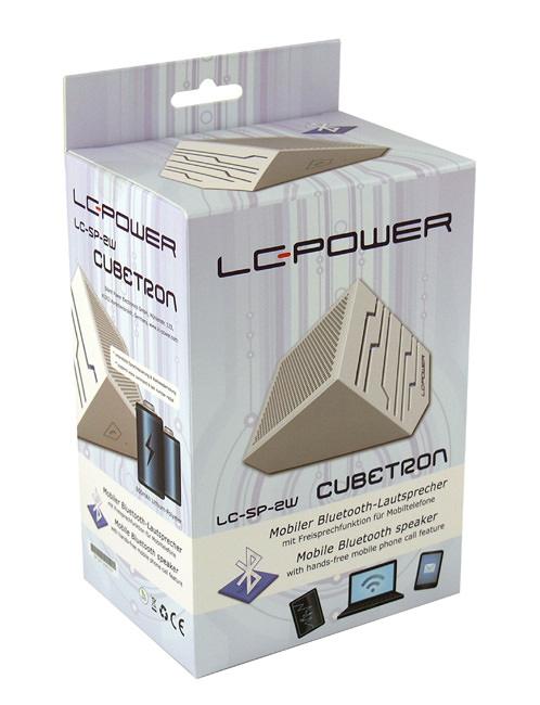 Lautsprecher LC-SP-2W - Cubetron - Verkaufsverpackung