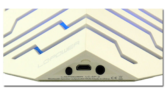 Speaker LC-SP-2W - Cubetron - close-up