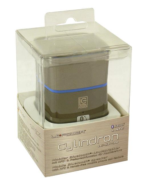 Lautsprecher LC-SP-3B - Cylindron - Verkaufsverpackung