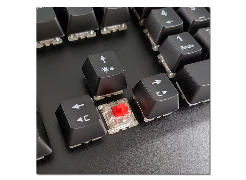 Mechanische RGB-Tastatur LC-KEY-MECH-1-RGB Detailansicht
