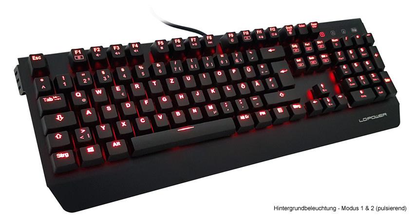 Mechanische Tastatur LC-KEY-MECH-1