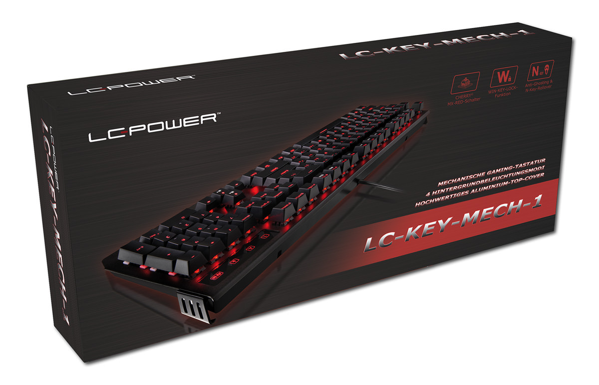 mechanical keyboard LC-KEY-MECH-1 retail