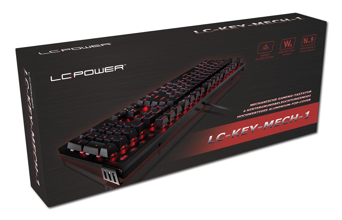 Mechanische Tastatur LC-KEY-MECH-1 Verkaufsverpackung